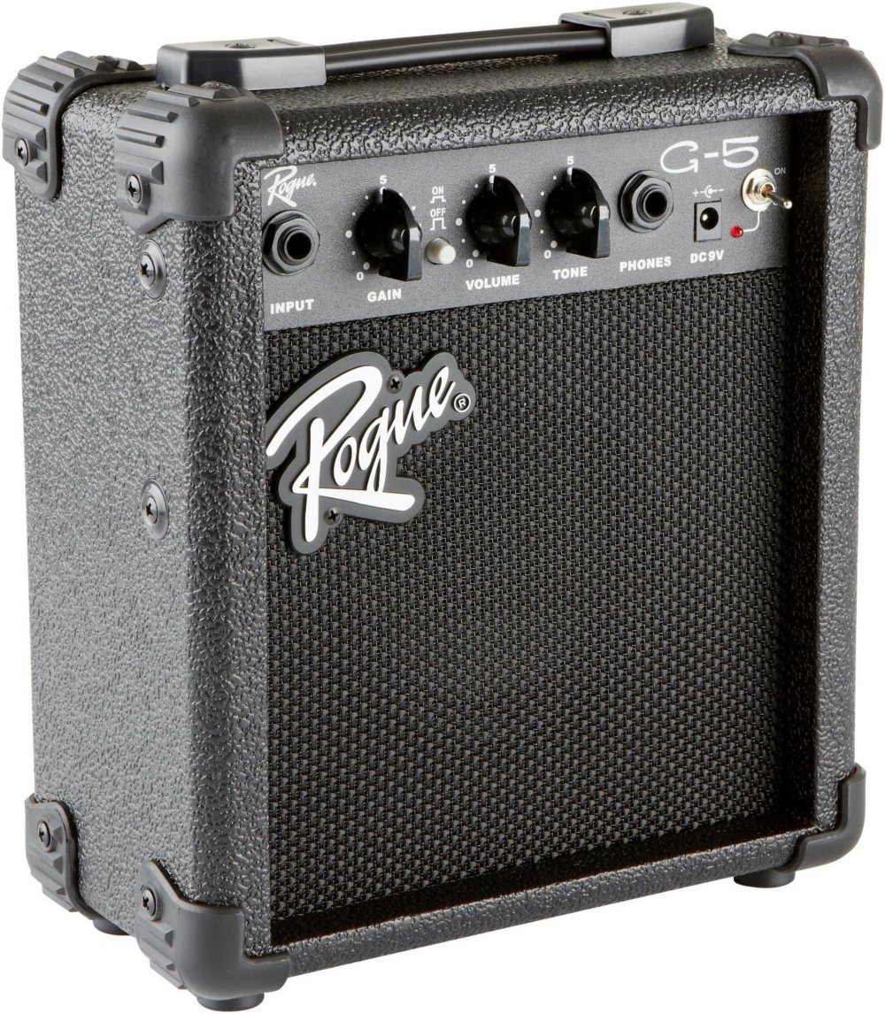 Rogue G5 5W Battery Powered Guitar Combo Amp Black