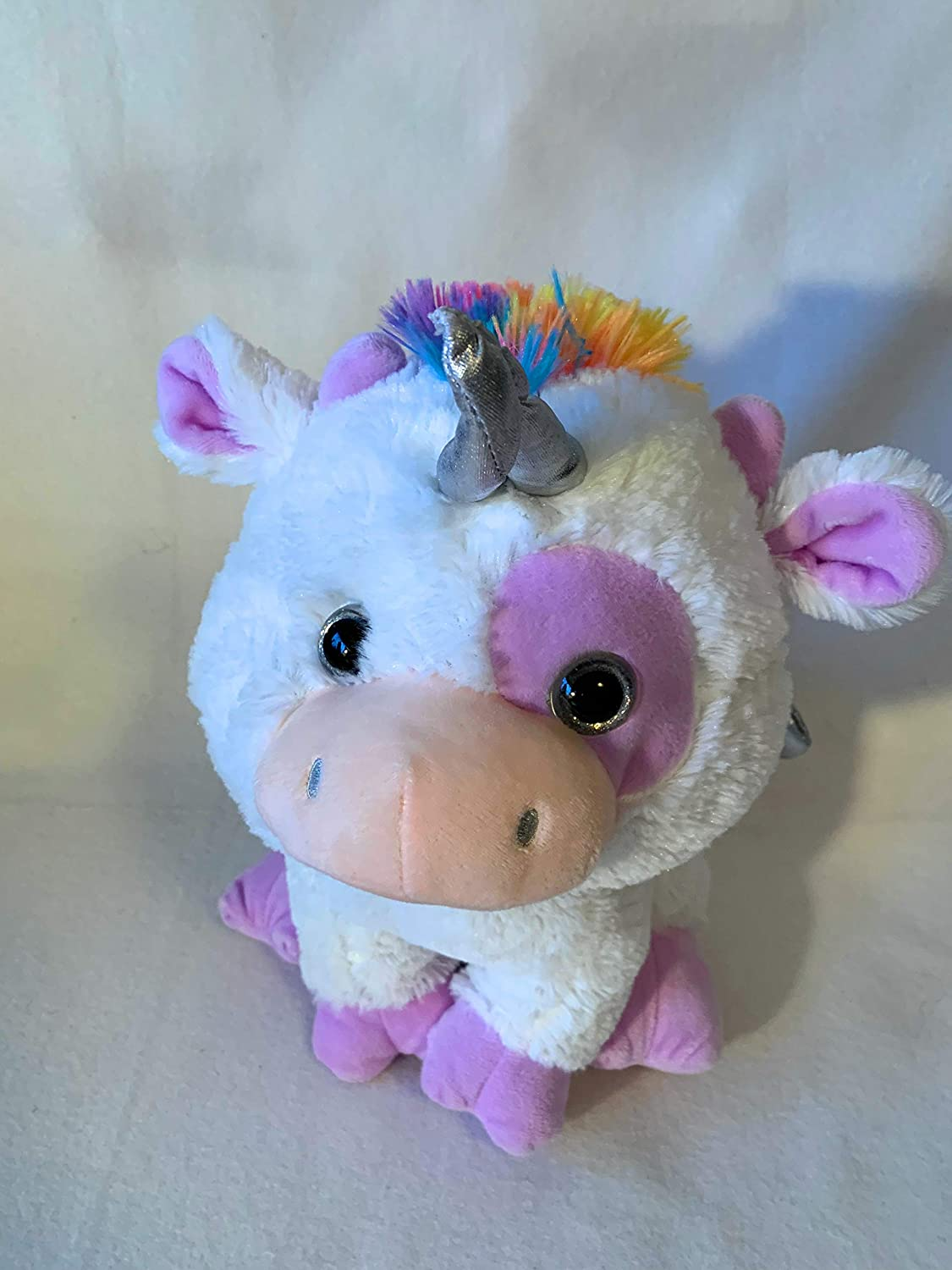 weighted unicorn with 3 lbs washable weighted buddy Weighted stuffed animal