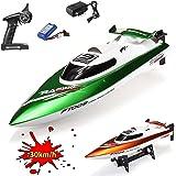 HSP Himoto XL Speedboot Pro 2.4GHz - RC ferngesteuertes Boot mit 2,4GHz und vollproportionale Fernsteuerung, Schiff-Modell mit Top-Speed über 30km/h, Racingboat, Ready-to-Run, Top-Design, Neu