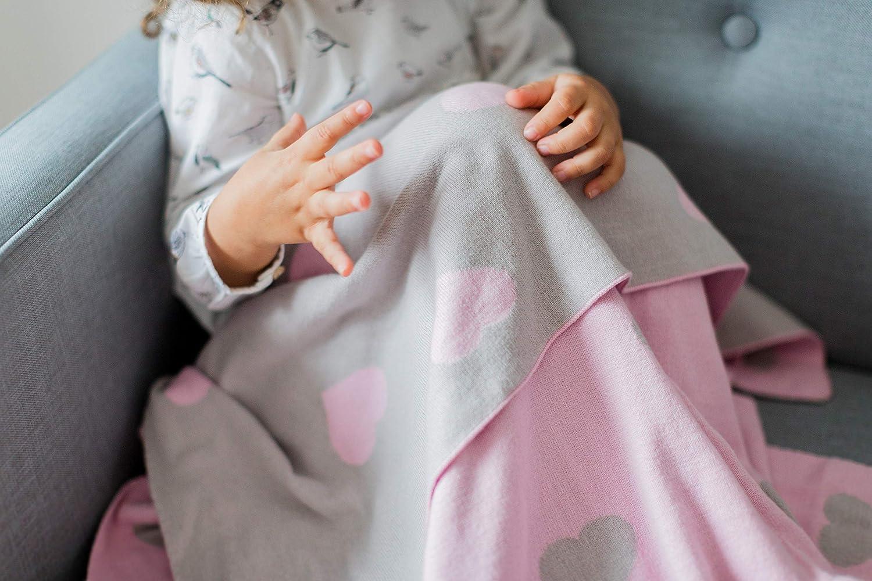 topos mantita de algod/ón para beb/é Kindsgut