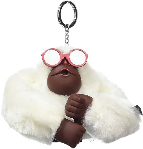 Kipling Flip Flop Monkey, Llavero Unisex Adulto, Blanco ...