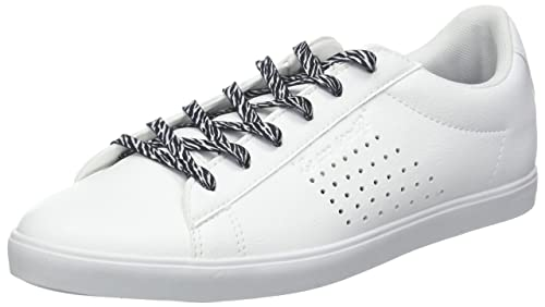 Le COQ Sportif Agate Animal Optical White/Black, Zapatillas para Mujer: Amazon.es: Zapatos y complementos