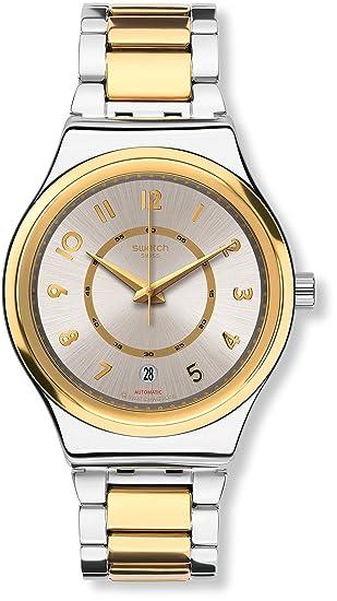 Swatch Reloj Digital para Mujer de Automático con Correa en Acero Inoxidable YIS410G
