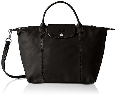 20dbedc29490 Longchamp Women Handbag Black Size  17x28x32 cm (B x H x T)  Amazon ...