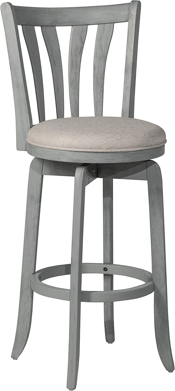 Hillsdale Furniture Savana, Blue Swivel Bar Stool