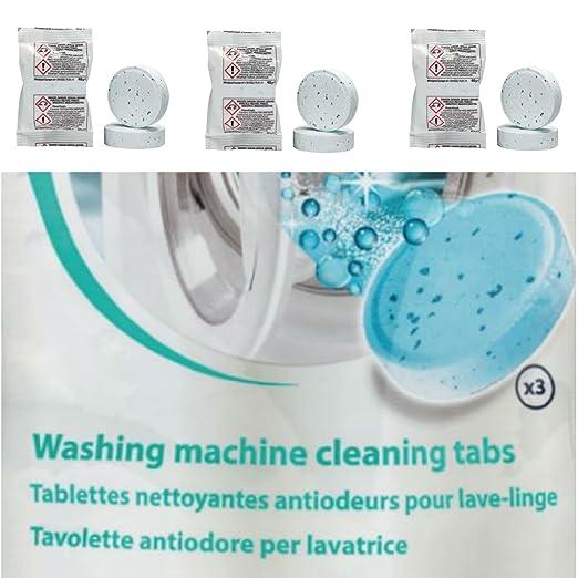 Eurosell 3 pieza profesional limpiador para lavadora ZB para Bosch ...