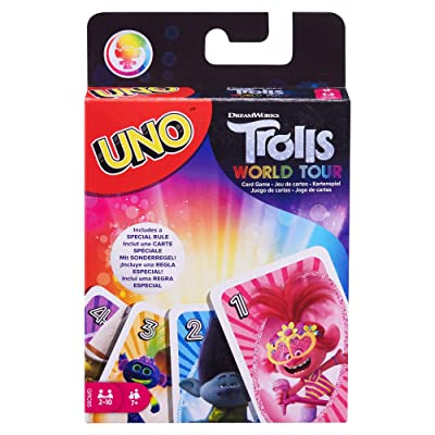 UNO: DreamWorks Trolls World Tour - Card Game: Toys & Games