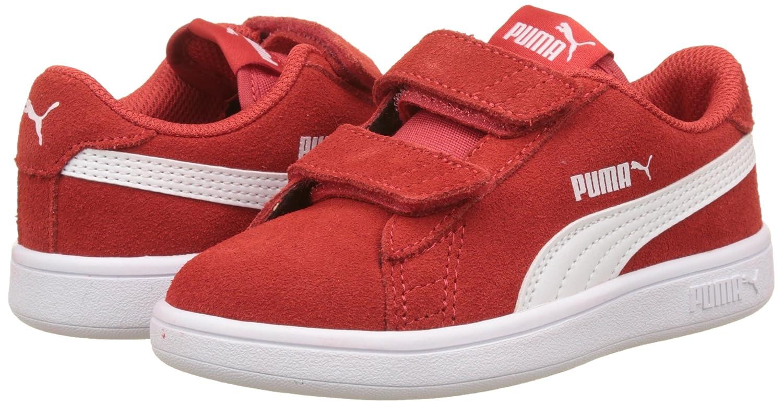 Puma Unisex Kids Smash V2 Sd V Ps Low-Top Sneakers