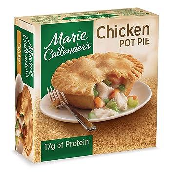 Marie Callenders Frozen Pot Pie Dinner Chicken 10 Ounce Amazon
