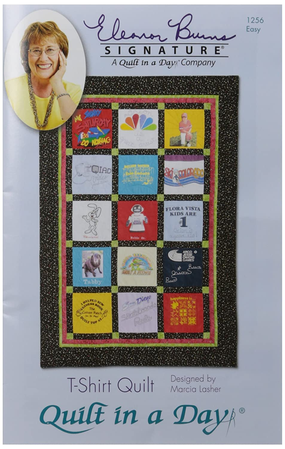 Quilt in a Day T-Shirt Quilt Pattern by Eleanor Burns EB-1256