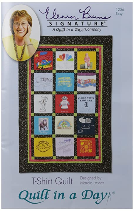 Amazon Quilt In A Day T Shirt Quilt Pattern By Eleanor Burns