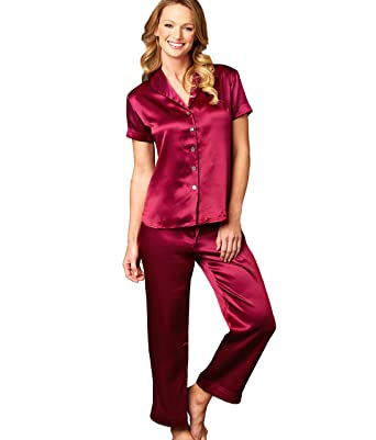 438c882e60 Julianna Rae Amelie Women s 100% Silk Pajama