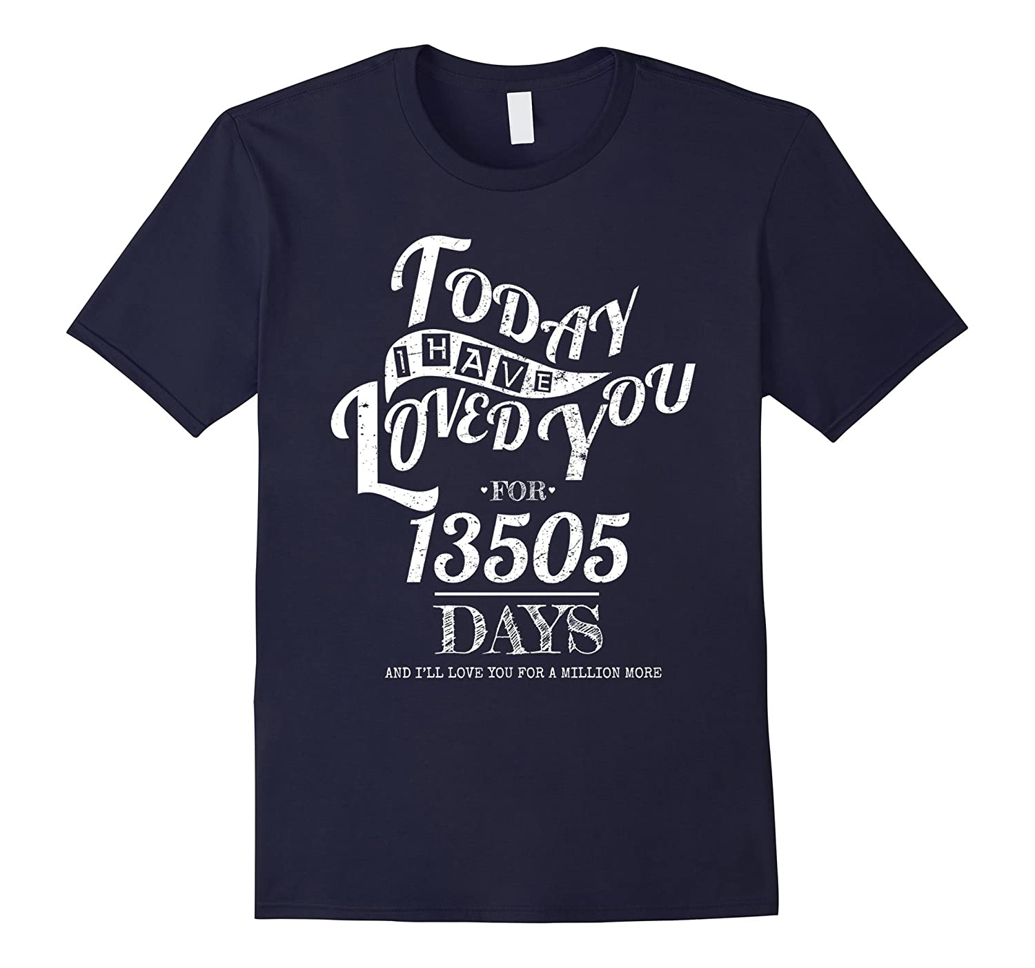 37th Wedding Anniversary T-Shirt Funny For Married In 1980 T-TJ