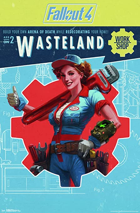 Trends International Fallout 4 - Wasteland Wall Poster, 22 375