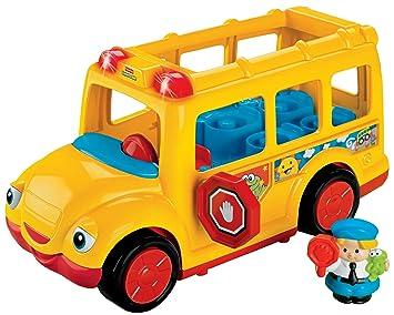Fisher-Price Little People Stop \'n Surprise School Bus: Amazon.co.uk ...