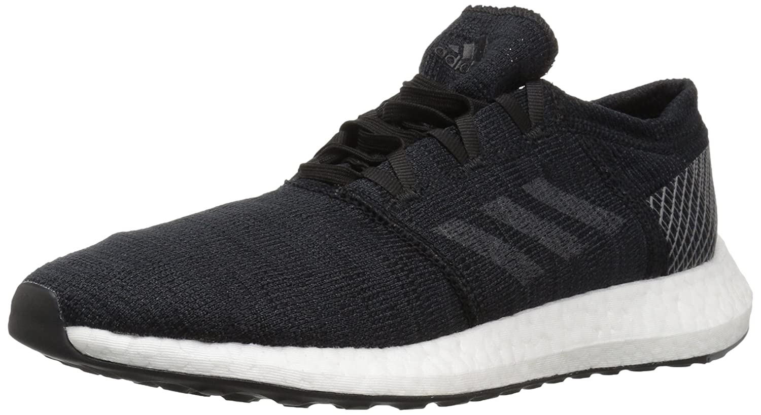 adidas Men's Pureboost Go Running Shoe B077XMJRZV 6.5 D(M) US|Black/Grey/Grey