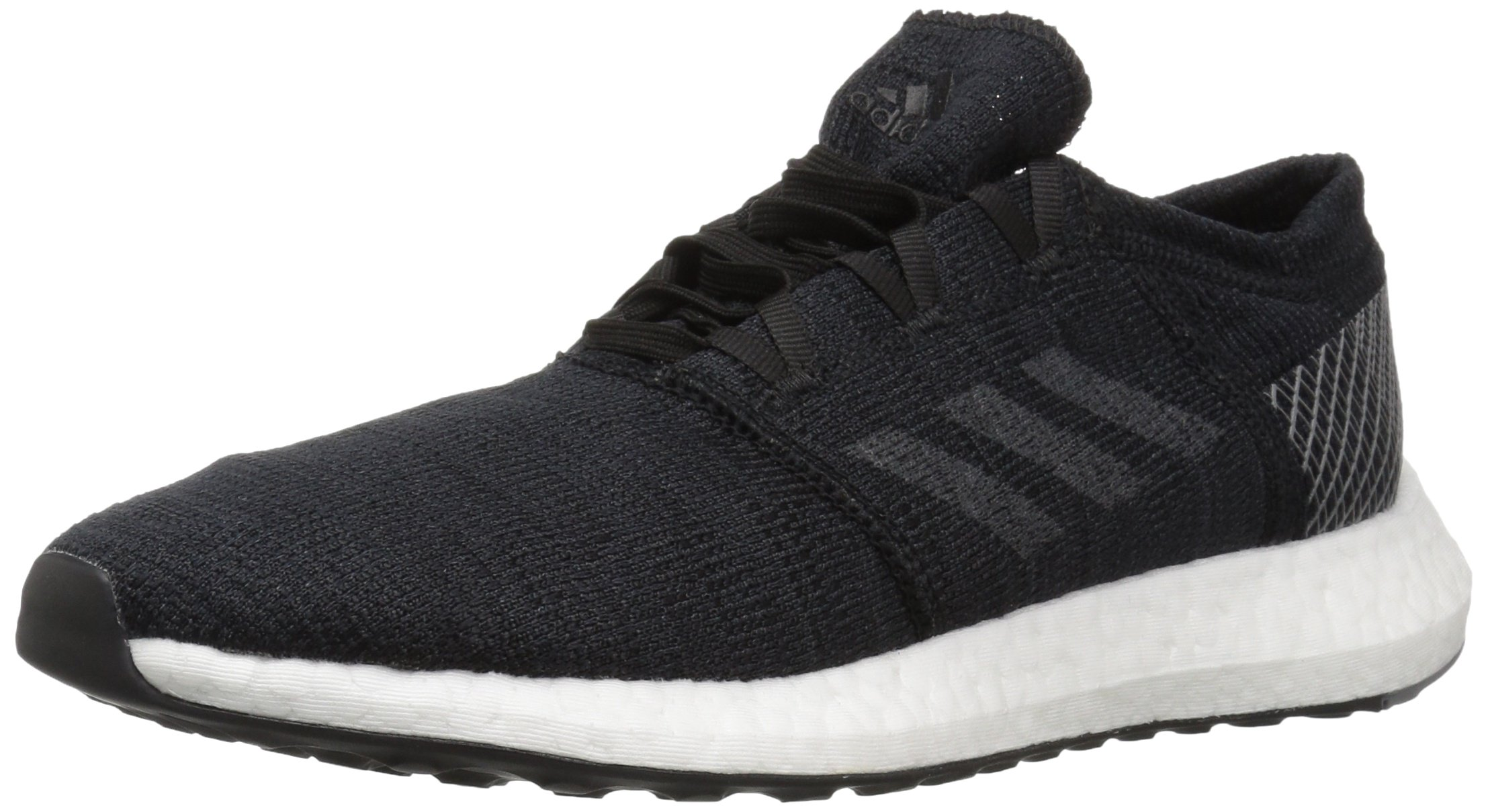 adidas Men's Pureboost Go Running Shoe, Black/Grey/Grey, 10.5 M US by adidas