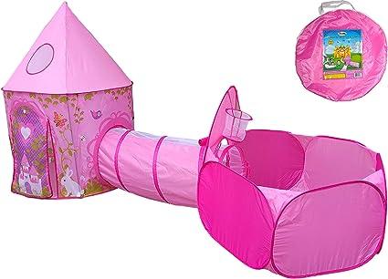 Children Kids Play Tent Fun Fairy Princess Girls Boys Indoor Ball Pit Playhouse