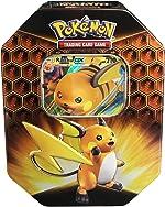 Pokemon TCG: SM11.5 Hidden Fates Gx Tin- Raichu + 1 of