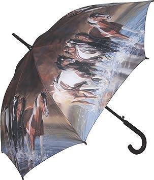 f8bb353758ecf Rivers Edge Products Full Size Horse Umbrella, 45-Inch, Brown, Umbrellas -  Amazon Canada