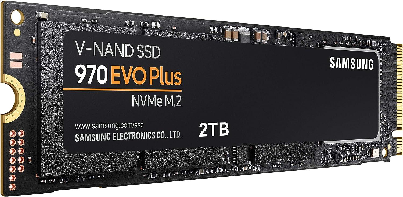Samsung mz-v7s250bw Unidad SSD 970 EVO Plus, 2 TB, M.2, NVMe ...