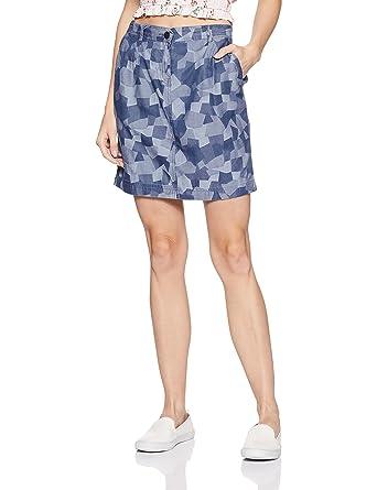 eabb8be6d Ms Taken Women's A-line Midi Skirt: Amazon.in: Clothing & Accessories