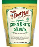 Bob's Red Mill Organic Corn Grits / Polenta (24 Ounce, Pack of 1)