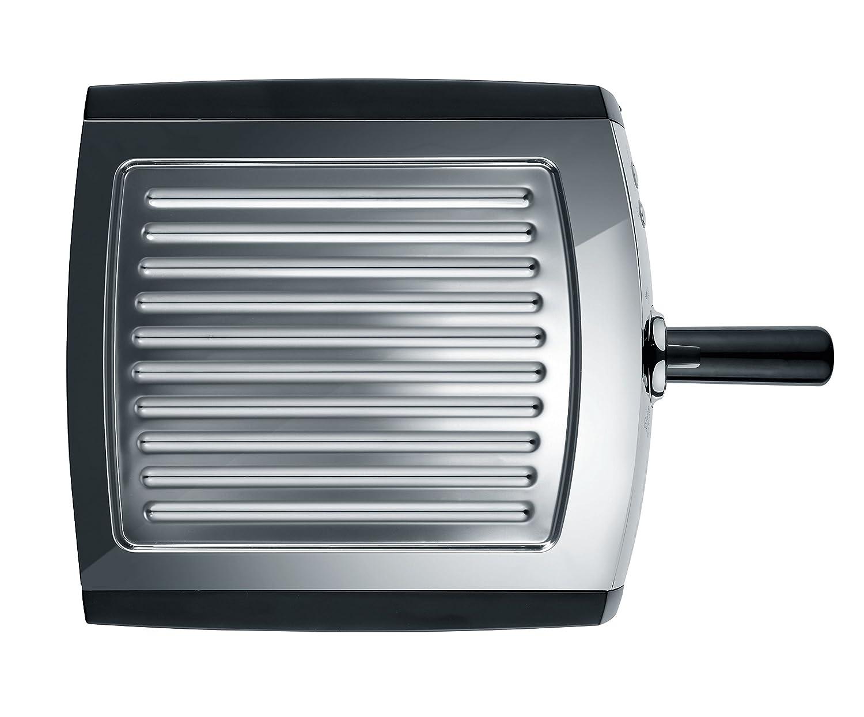 Graef ES702EU Siebtr/äger-Espressomaschine pivalla schwarz-matt//edelstahl 1410 W 16 Bar