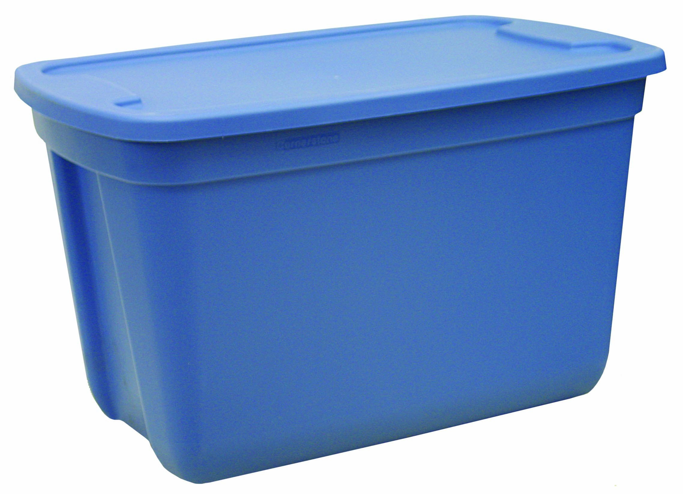 Great Solutions  20-Gallon Totes, Blue/Blue