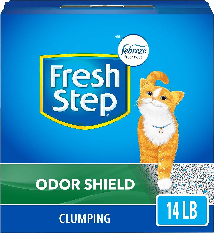 Análisis de la arena para gatos de Fresh Step 7