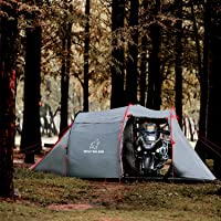 Wolf Walker Pop Up Tents for Camping, Motorcycles Outdoor Hiking, Backpacking