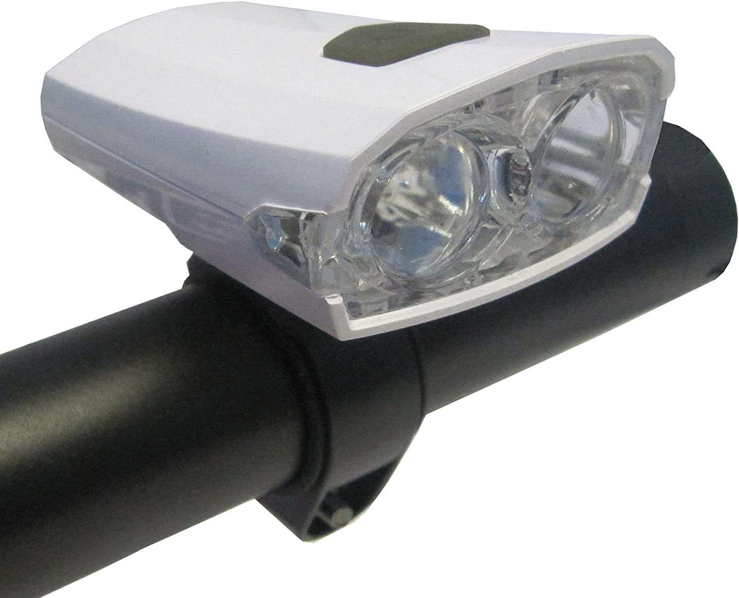 white usb Uni-com-front bicycle light