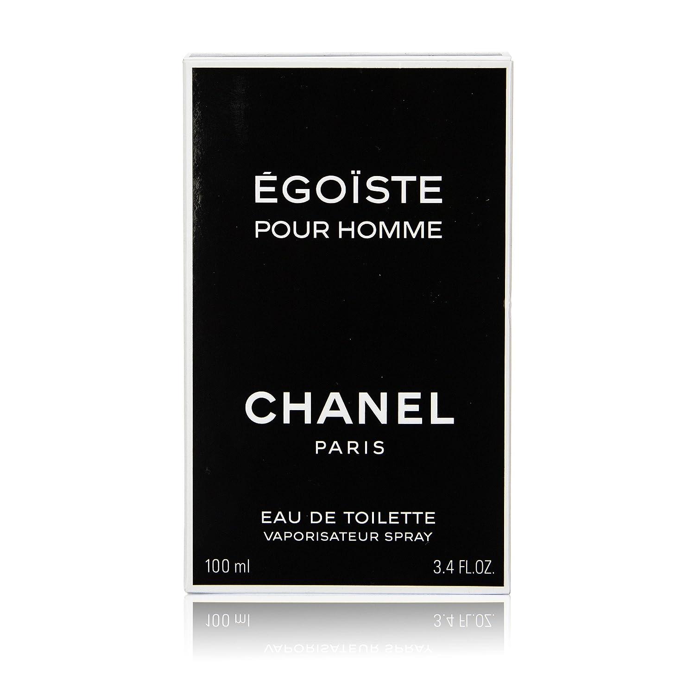 Amazon.com: Chanel Egoiste Eau de Toilette Spray – 3.4 fl oz ...