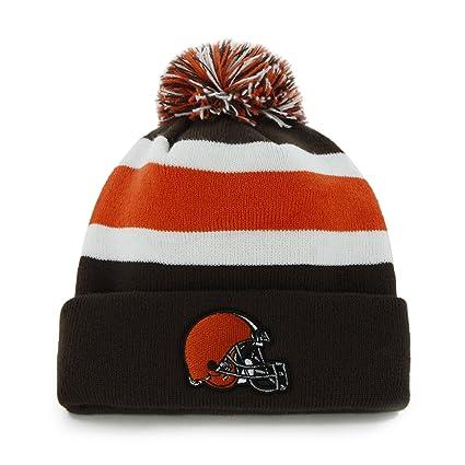 Amazon.com   NFL Cleveland Browns Men s Breakaway Knit Cap db5372972cfe