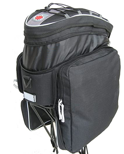 2b04e3fe89486 Amazon.com : Banjo Brothers Rack Top Pannier Bag : Bike Panniers And Rack  Trunks : Sports & Outdoors