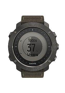 Suunto - Traverse Alpha - SS022292000 - Reloj GPS Outdoor para pesca, caza y excursionismo - Sumergible - Foliage (Verde follaje) - Talla única: Amazon.es: ...