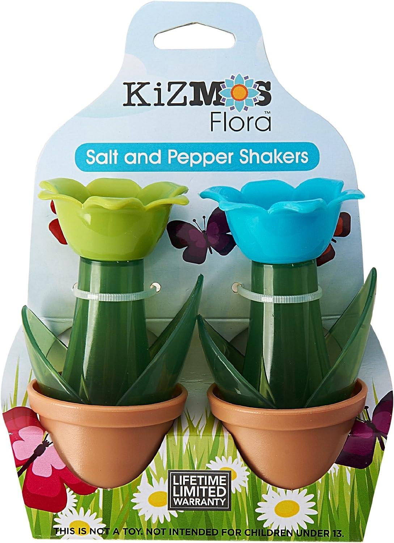Kizmos Dise/ño de Flores y Conjunto de Tres tr/ébede de Silicona