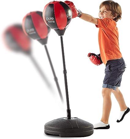 Amazon.com: Pure Boxing - Bolsa de boxeo con soporte ...