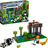 LEGO Minecraft The Panda Nursery 21158 Construction Toy for Kids, Great Gift for Fans of Minecraft and Pandas, New 2020 (204
