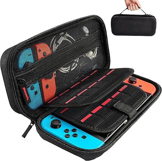4a1b8dc008d Sora Funda Negra para Nintendo Switch. Estuche/Case de Tela Color Negro  para Nintendo Switch: Amazon.com.mx: Electrónicos