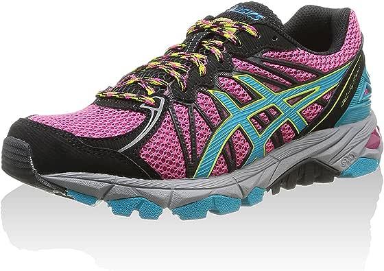 Asics Zapatillas Deportivas Running Gel-Fujitrabuco 3 Magenta/Turquesa/Lima EU 42.5 (US 10.5): Amazon.es: Zapatos y complementos