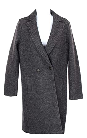 b4ed380615b Image Unavailable. Image not available for. Color  J Crew Womens Daphne Top  Coat in Boiled Wool ...