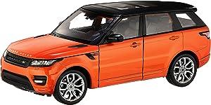 Welly Land Rover Range Rover Sport 1/24 Scale Diecast Model Car Orange