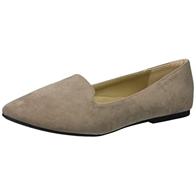 Forever Women's Diana-81 Ballet Loafer-Flats Shoes (6.5 B(M) US, Taupe) | Flats