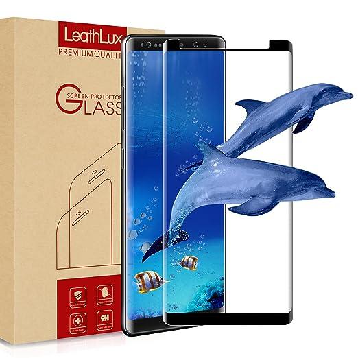 29 opinioni per Pellicola Vetro Temperato Galaxy Note 8 , LeathLux [3D Piena Copertura]