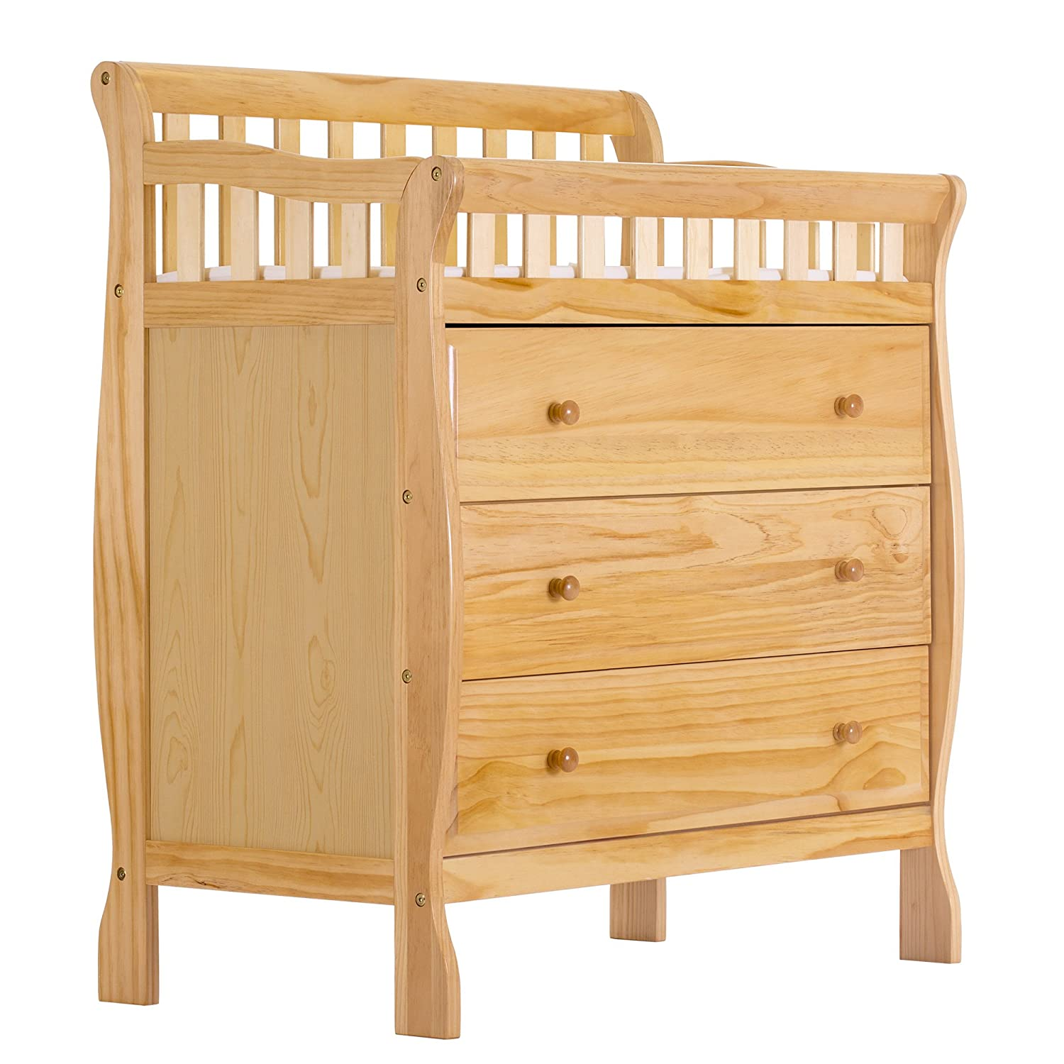 Dream On Me Marcus Changing Table and Dresser, Natural