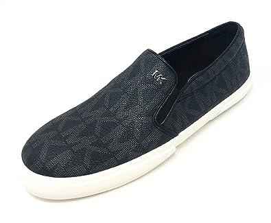 a8d0e16aac Amazon.com | Michael Kors Boerum Double Gore PVC Slip On Sneakers ...