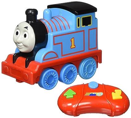a45143d95911d9 Amazon.com: Fisher-Price Thomas & Friends Steam 'n Speed R/C Thomas ...