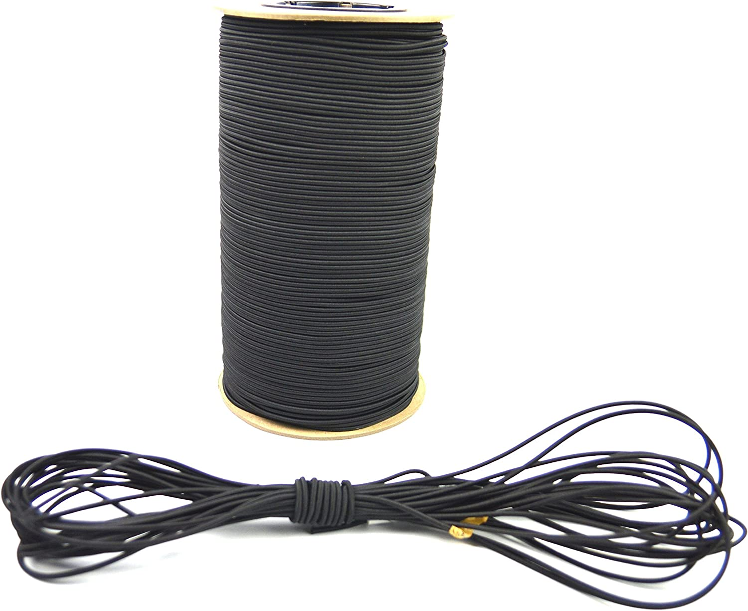 Marine Masters 100ft 3//16 Inch Blue Bungee Shock Cord 100 Feet