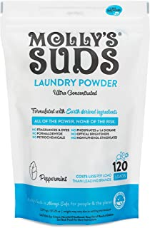 product image for Molly's Suds Original Laundry Detergent Powder 120 load, Natural Laundry Soap for Sensitive Skin